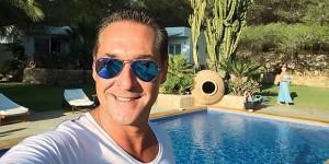 17.07.17 Heinz-Christian Strache in vacanza a Ibiza
