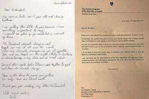 17.09.21 Lettera Paula a Trump, accompagnatoria Van der Bellen - Copia