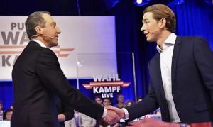 17.10.09 Christian Kern e Sebastian Kurz (dibattito Puls4)