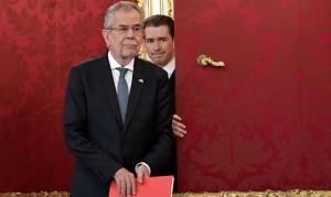 17.10.20 Incontro Van der Bellen-Kurz per conferimento incarico governo