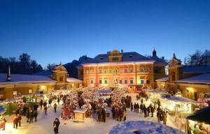 17.11.26 Salisburgo, mercato dell'Avvento a Hellbrunn