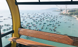 18.02.06 Vietnam, telecabina Doppelmayr tra isole Phu Quoc e Hon Thom - Copia