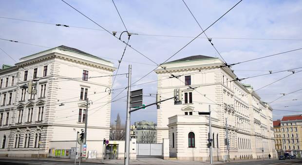 18.03.12 Vienna, sede Bundesamt für Verfassungsschutz und Terrorismusbekämpfung