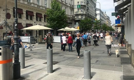 18.05.12 Vienna, Kärntnerstrasse, paletti dissuasori (foto Michael Jungwirtw)