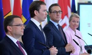 18.05.22 Kurz, Strache presentazione riforma previdenziale
