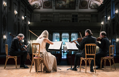 18.05.29 Eisenstadt, Haydn Quartett, sala castello Esterházy