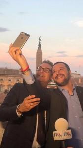 18.06.19 Roma, Heinz-Christian Strache e Matteo Salvini - Copia