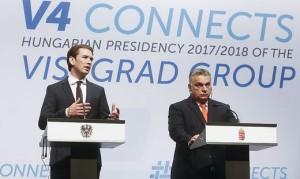 18.06.21 Budapest, Sebastian Kurz e Viktor Orban