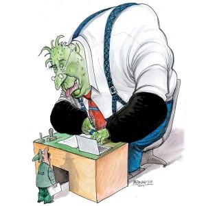 18.07.16 Burocrazia (vignetta Petar Pismestrovic)