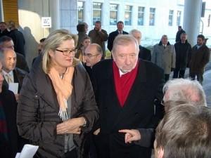 07.12.21 08 Valico Karawankentunnel; Ursula Plassnik con Dimitri Rupel - Copia