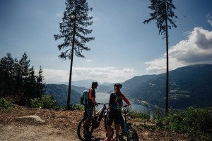 18.08.11 Ossiacher See, lago di Ossiach, e-bike, ciclismo (Foto Martin Hofmann) - Copia