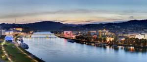 18.08.30 Linz, Danubio (foto JohannSteininger)