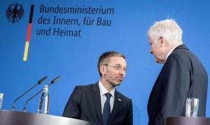 18.09.05 Berlino, Herbert Kickl e Horst Seehofer