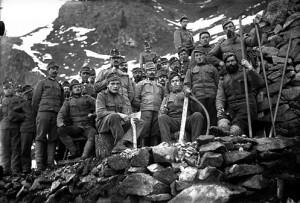 18.10.04 Standschuetzen, fronte del Tirolo (Mostra Rovereto) - Copia