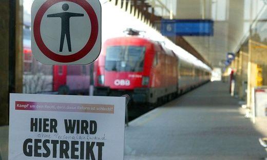 19.11.26 Sciopero Öbb, Ferrovie autroache, treni