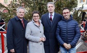 18.12.12 Cividale; Alberich Lodron, Beate Prettner, Stefano Balloch, Stefano Mazzolini - Copia