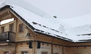 19.02.03 Pramollo Nassfeld; tetto della Garnitzenalm 3