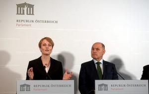 19.03.17 Eva Zeglovits (Ifes) e Wolfgang Sobotka
