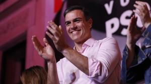 19.04.30 Elezioni Spagna; Pedro Sanchez Psoe