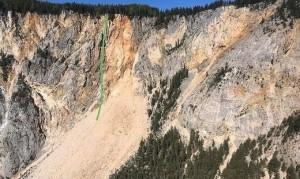 19.05.14 Dobratsch, tracciato della caduta Robert Essl