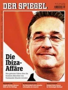 19.05.18 Copertina Der Spiegel su Strache a Ibiza - Copia