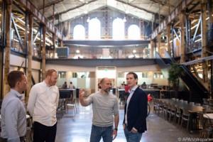 19.07.29 Sebastina Kurz visita a Uber (Silicon Valley)