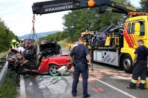 19.08.05 Inciedente B317 Althofen (4 morti 1 ferito)