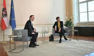 19.10.09 Sebastian Kurz e Pamela Rendi-Wagner