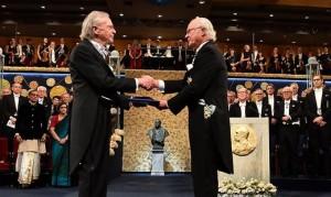 19.12.11 Peter Handke e Carlo XVI Gustavo re di Svezia