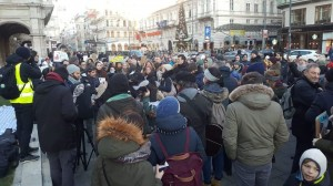 19.12.23 Vienna, manifestazione sardine del 14.12.2019