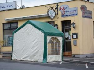19.12.24 Freistadt, tenda per fumatori (non ammessa)