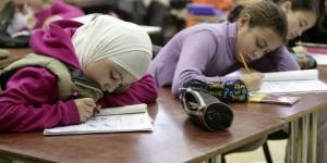 19.05.17 Velo islamico a scuola