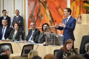 20.01.15 Sebastian Kurz, in Parlamento