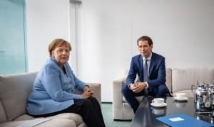 20.02.03 Berlino, Angela Merkel e Sebastian Kurz