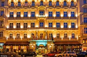 20.02.20 Vienna, hotel Sacher