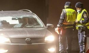 20.03.09 Austria, controlli polizia alla frontiera