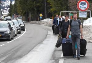 20.03.14 Ospiti in fuga da St. Anton