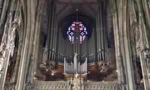 20.04.12 Organo duomo Vienna Stephansdom