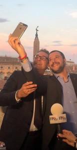 20.06.24 Heinz-Christian Strache e Matteo Salvini a Roma