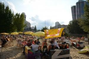 20.07.01 Vienna, Strandbar Herrman, Donaukanal