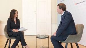 20.07.26 Intervista Puls 24, Alexandra Wachter e Sebastian Kurz