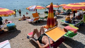 20.08.16 Spiaggia in Croazia