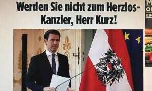 20.09.17 Bild Zeitung, su Kurz e Moria