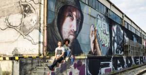 20.10.21 Linz, Mural Harbor, graffiti zona portuale (f. Robert Josipovic) - Copia