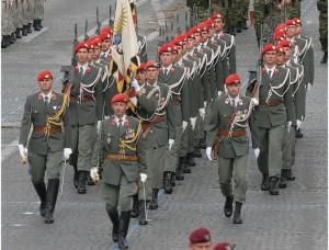 20.10.25 Gardebataillon, battaglione della guardia