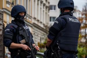 20.11.06 Vienna, attentato terroristico, polizia