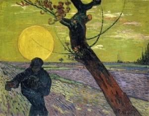 20.12.23 Leopold Museum Vienna, Van Gogh, Seminatore al tramonto - Copia