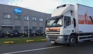20.12.24 Vaccino Pfizer in partenza da Belgio