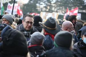 21.01.17 Heinz-Christian Strache, protesta anti Covid