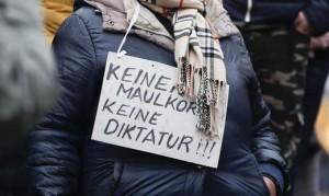 2101.07 Manifestazione anti vaccino Wiener Neustadt 2